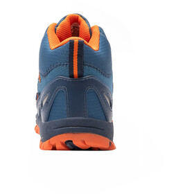 TROLLKIDS Rondane Hiker Keskipitkät varsikengät Lapset, mystic blue/orange